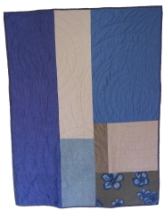 Ripples Quilt (back), 2008