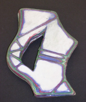 Layered paper sculpture